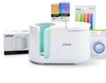 Cricut Mug Press + Essentials Materials Bundle