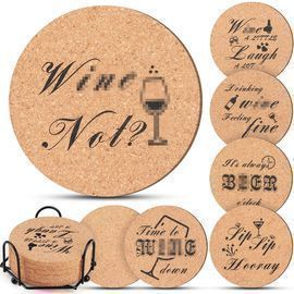 Funny Cork Coaster for Drinks