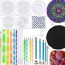 27PCS Mandala Dotting Tools Stencil Set