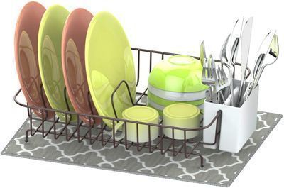 Bronze Dish Drying Rack