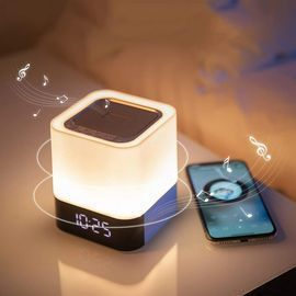 Wireless Bluetooth Speaker/Light/Clock