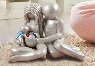 Rainbow Baby Figurine Statue