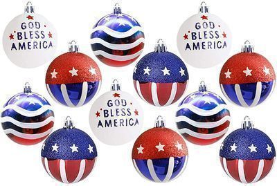Independence Day Ball Ornaments