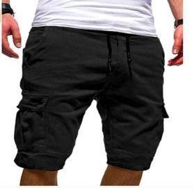 Mens Athletic Cargo Shorts