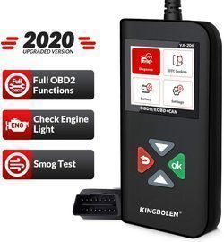 Car Engine Scan Tool with Full OBD2 Functions