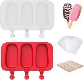 2 Pcs Popsicle Molds
