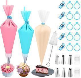 Piping Bags and Tips Set