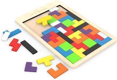 Wooden Tetris Puzzle