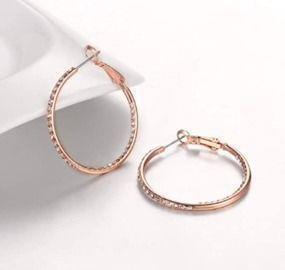 1 Pair Hoop Earrings