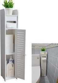Small Bathroom Storage Corner Floor Cabinet