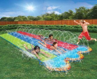 Triple Racer 16 Feet Long Water Slide