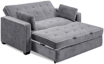 Serta Augustus 2-Seater Convertible Full-Size Sleeper Sofa