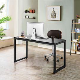 SmileMart 55 Metal Framed Desk with 2 Grommets & 1 Hook