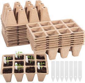 20 Pack 12 Cell Plant Seed Starter Tray