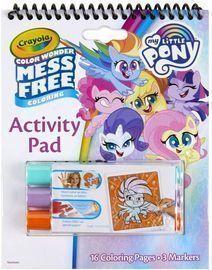 Crayola My Little Pony Color Wonder Activity Pad