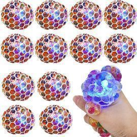 Squishy Balls Colorful Anti-Stress Squeeze Grape Balls
