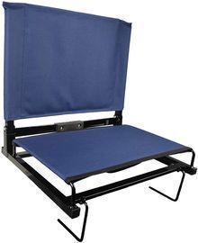 Bleacher Chairs with Backs and Cushion