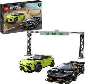 Lego Speed Champions Lamborghini Urus ST-X and Lamborghini Huracn Super Trofeo EVO Model Car
