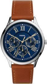 Fossil Men's Pierce Brown Leather Strap Watch