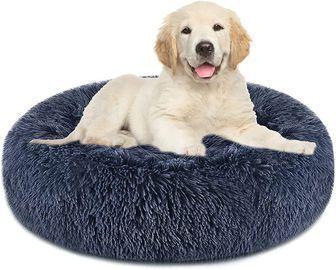 Anti-Slip Faux Fur Pet Bed