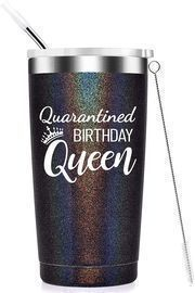 Quarantined Birthday Queen Insulated Tumbler