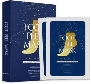 2 Pairs of Foot Peel Mask for Cracked Heels
