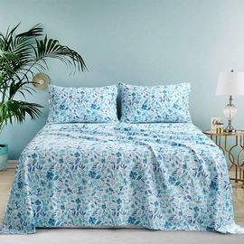 Cotton Printed Sheet Set 4pc
