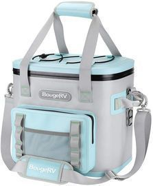 BougeRV Soft Cooler, 30 Can, Insulated Leak Proof Waterproof Cooler Bag