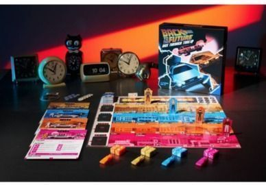 Back to the Future: Dice Through Time Board Game