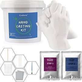 Couples Hand Casting Kit