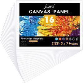 Canvas Panels Value Pack 16pcs