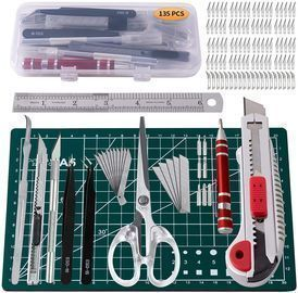 135Pcs Exacto Knife Set