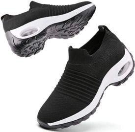 Women Athletic Slip on Walking Shoes