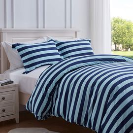 Stripe Duvet Cover 2-Piece Set