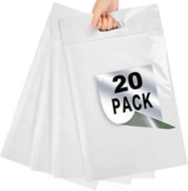 Poly Mailers 1115 with Handle - 20pk
