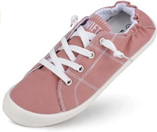 Women's Canvas Slip-On Sneakers