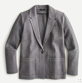 Women's Knit Ponte Blazer