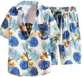 Hawaiian Shirt Shorts Sets