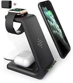 3 in 1 Fast Wireless Charging Station Dock