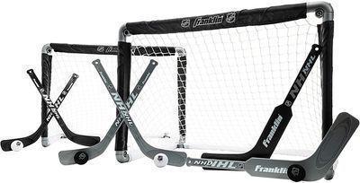 Franklin Sports Mini Hockey Goal 2-Pack