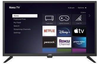 JVC 32 Class HD (720p) Roku Smart LED TV