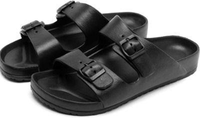 Mens Double Buckle Adjustable Sandals