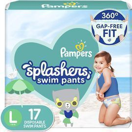 Pampers Splashers Swim Diapers (M OR L)