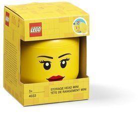 Lego Mini Storage Head