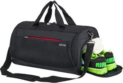 Duffel Bag Workout Bag with Shoes Compartment&Wet Pocket