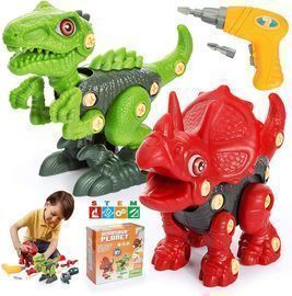 Loslandifen Take Apart Dinosaur Toys for Kids