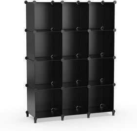 12-Cube Storage Shelf