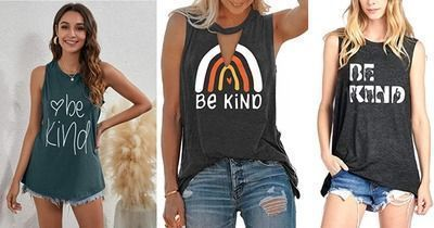 Be Kind Tank Tops