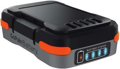 Black + Decker GoPak 12V Li-Ion Battery & USB Charger