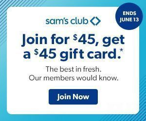 Sam's Club - Join for $45, Get $45 Gift Card